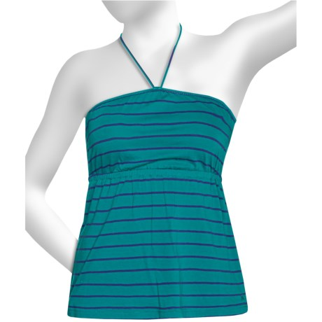 Hurley Scuttle Halter Camisole - Cotton-Modal Knit (For Women) in Calypso