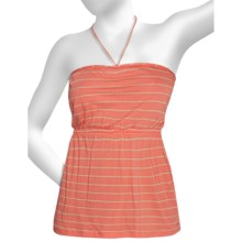 Hurley Scuttle Halter Camisole - Cotton-Modal Knit (For Women) in Conch Orange - Closeouts