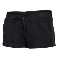Hurley Slam Dunk Walk Shorts (For Women) in Black - Closeouts