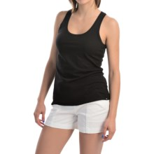 Hurley Solid Perfect Classic Tank Top - Racerback (For Women) in Black - Closeouts