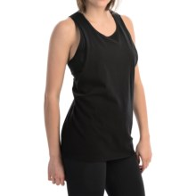 Hurley Solid Riot Biker Tank Top (For Women) in Black - Closeouts
