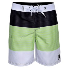 Hurley Strike Boardshorts - Recycled Materials (For Men) in Neon Green - Closeouts