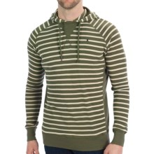 Hurley Thermite Hoodie Shirt - Waffle Knit, Long Sleeve (For Men) in Fort Green - Closeouts