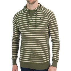 Hurley Thermite Hoodie Shirt - Waffle Knit, Long Sleeve (For Men) in Fort Green
