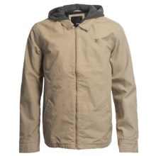 Hurley Unified Jacket- Insulated, Cotton (For Men) in Sand Storm - Closeouts