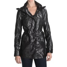 Hurley Winston Packable Jacket (For Women) in Black - Closeouts