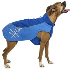 Hurtta Adjustable Raincoat For Dogs in Blue