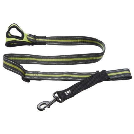 Hurtta Free Hand Adjustable Medium Dog Leash - 3-5' in Birch