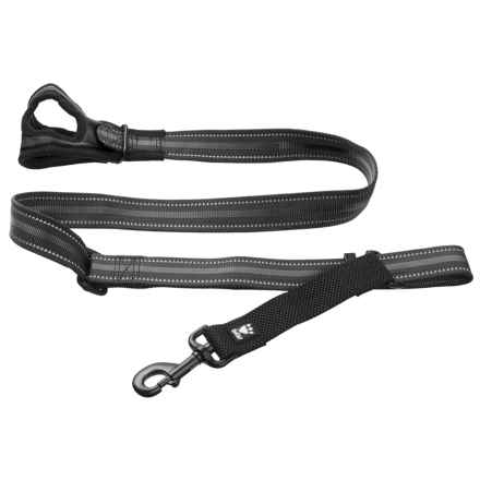Hurtta Free Hand Adjustable Medium Dog Leash - 3-5' in Granite - Closeouts