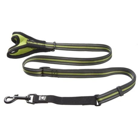 Hurtta Free Hand Adjustable Small Dog Leash - 3-5' in Birch