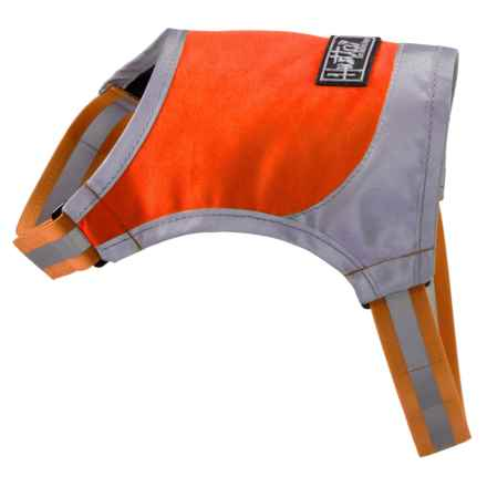 Hurtta High-Visibility Dog Micro Vest in Orange - Closeouts