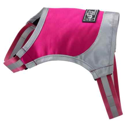 Hurtta High-Visibility Dog Micro Vest in Pink - Closeouts