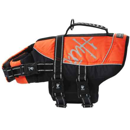 Hurtta Life Jacket for Dogs in Orange - Closeouts
