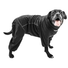 Hurtta Microfleece Dog Jumpsuit in Black - Closeouts