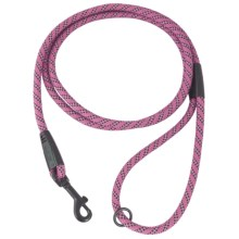 Hurtta Mountain Rope Leash - 6' in Raspberry - Closeouts