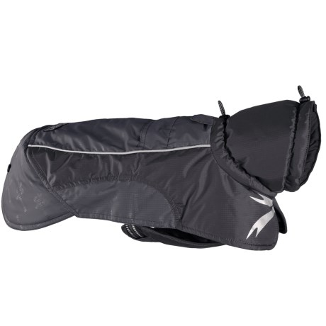 Hurtta Ultimate Warmer Dog Jacket - Waterproof in Granite
