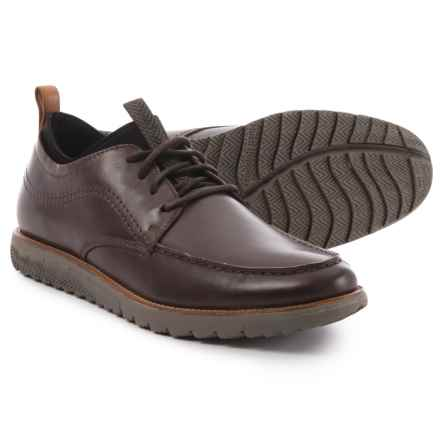 Hush Puppies Alert Expert Oxford Shoes - Leather (For Men) in Dark Brown - Closeouts