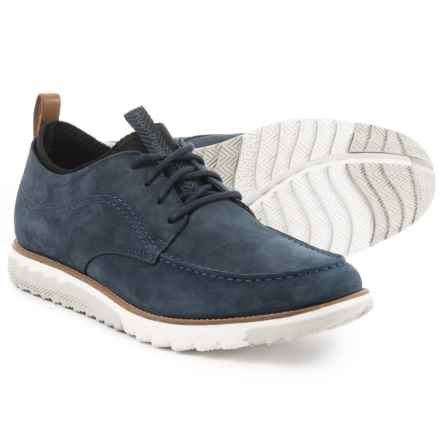Hush Puppies Alert Expert Oxford Shoes - Leather (For Men) in Navy - Closeouts
