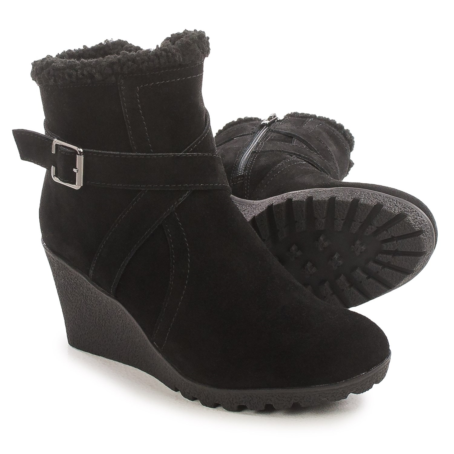 Hush Puppies Amber Miles Weathersmart Wedge Boots For
