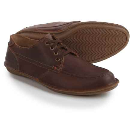 Hush Puppies Arvid Roll Flex Shoes - Leather (For Men) in Chestnut Leather - Closeouts