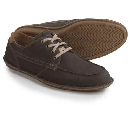 Hush Puppies Arvid Roll Flex Shoes - Leather (For Men) in Grey Nubuck - Closeouts