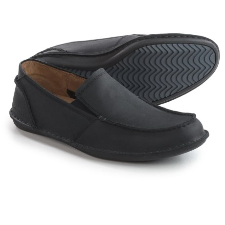 Hush Puppies Asil Roll Flex Loafers - Leather (For Men) in Black Leather