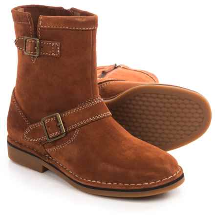 Hush Puppies Aydin Catelyn Boots - Suede, Side Zip (For Women) in Cognac Suede - Closeouts