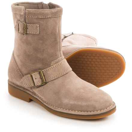 Hush Puppies Aydin Catelyn Boots - Suede, Side Zip (For Women) in Taupe Suede - Closeouts
