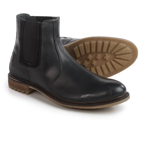 Hush Puppies Beck Rigby Chelsea Boots - Leather (For Men) in Black