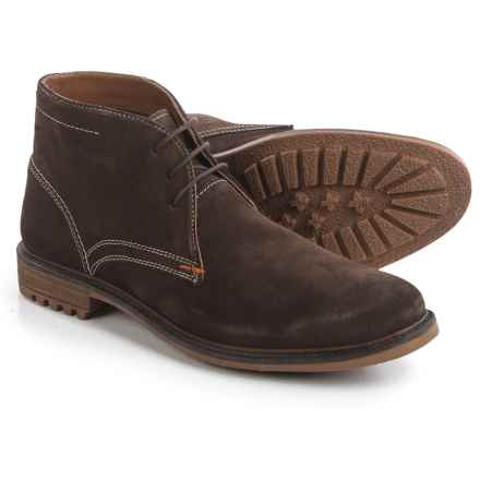 Hush Puppies Benson Rigby Chukka Boots - Suede (For Men) in Dark Brown Suede - Closeouts