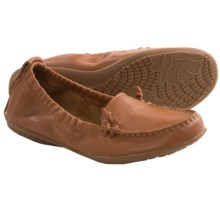 Hush Puppies Ceil Shoes - Slip-Ons (For Women) in Tan Leather - Closeouts