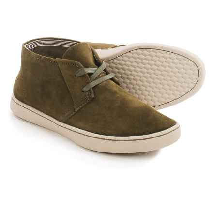 Hush Puppies Cille Gwen Chukka Boots - Suede (For Women) in Dark Olive Suede - Closeouts