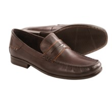 Hush Puppies Circuit Penny Loafers - Moc Toe (For Men) in Dark Brown Leather - Closeouts