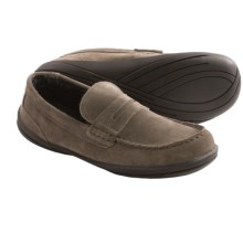 Hush Puppies Cottonwood Suede Slippers (For Men) in Grey - Closeouts