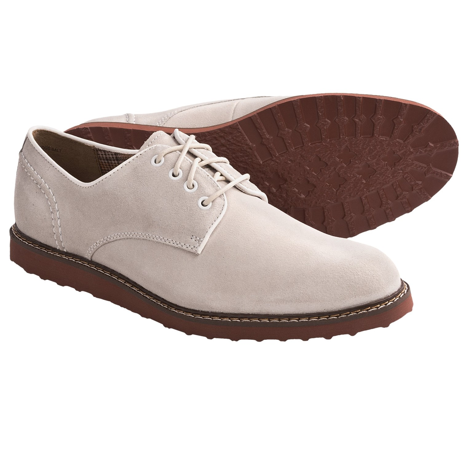 Hush Puppies Derby Wedge Shoes - Suede (For Men) - Save 41%