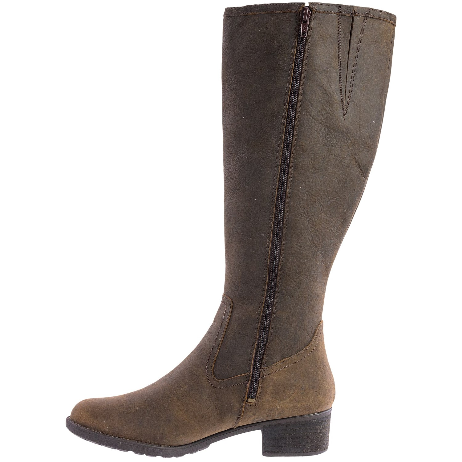 Excellent 9634T_5 Hush Puppies Noliva Maria Ankle Boots  Leather For Women