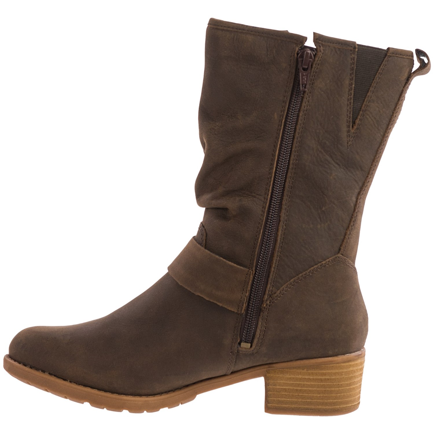 hush puppies emelee overton leather boots for