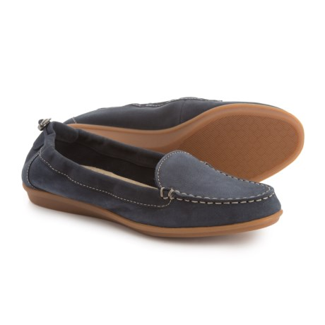 Hush Puppies Endless Wink Loafers - Leather (For Women) in Navy Nubuck