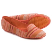 Hush Puppies Flossie Chaste Flats (For Women) in Coral - Closeouts