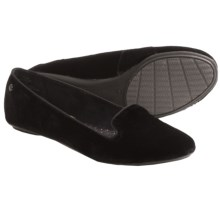 Hush Puppies Flossie Chaste Shoes - Flats (For Women) in Black Velvet - Closeouts