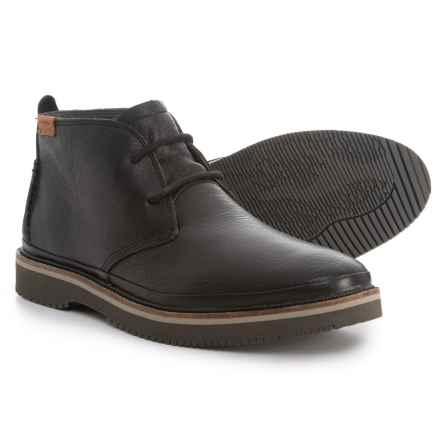 Hush Puppies Fredd Bernard Chukka Boots - Leather (For Men) in Black - Closeouts
