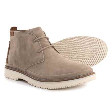 Hush Puppies Fredd Bernard Chukka Boots - Leather (For Men) in Light Grey - Closeouts