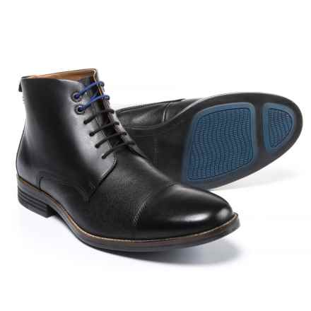 Hush Puppies Gage Parkview Chukka Boots - Leather (For Men) in Black - Closeouts