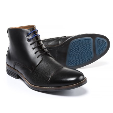 Hush Puppies Gage Parkview Chukka Boots - Leather (For Men) in Black