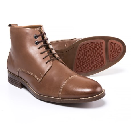 Hush Puppies Gage Parkview Chukka Boots - Leather (For Men)
