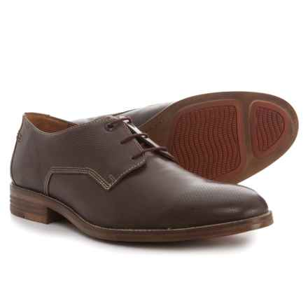 Hush Puppies Glitch Parkview Oxford Shoes - Leather (For Men) in Dark Brown - Closeouts