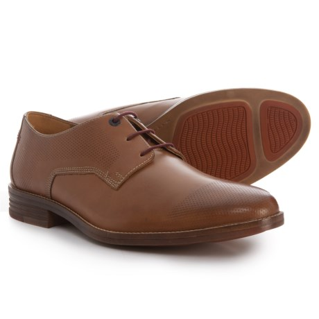 Hush Puppies Glitch Parkview Oxford Shoes - Leather (For Men) in Tan