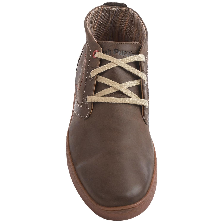 hush puppies gresham roadcrew chukka boots for men