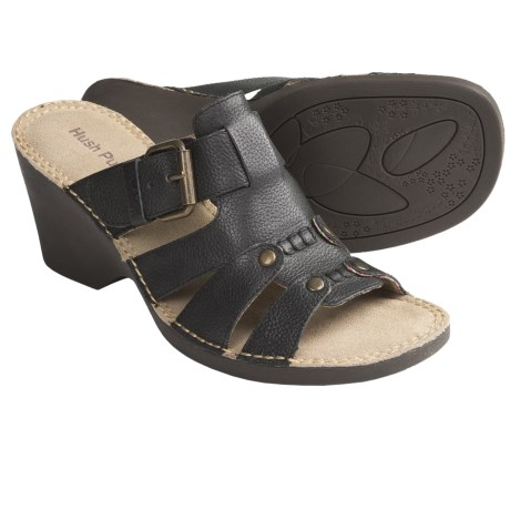 Hush Puppies Havana Sandals (For Women) in Brown