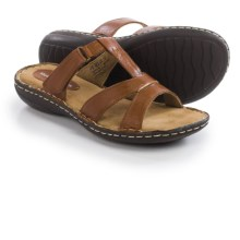 Hush Puppies Heidi York IIV Sandals - Leather (For Women) in Rust - Closeouts